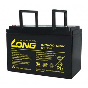 LONG KPH100-12AN Sealed Lead Acid AGM Battery 12V 100AH