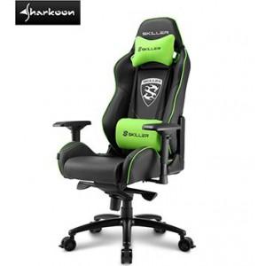 Sharkoon 4044951019519 Skiller SGS3 Gaming Seat Black, Green