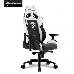 Sharkoon 4044951019526 Skiller SGS3 Gaming Seat Black and White