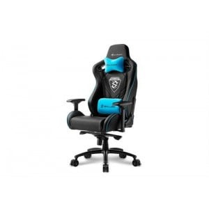 Sharkoon 4044951021710 Skiller SGS4 Gaming Seat Black and Blue