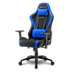 Sharkoon 4044951020171 Skiller SGS2 Steel Frame with Moulded Foam Gaming Chair - Black/Blue