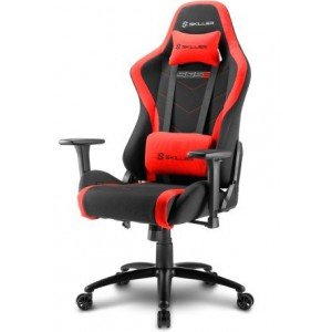 Sharkoon 4044951020188 Skiller SGS2 Steel Frame with Moulded Foam Gaming Chair - Black/Red,