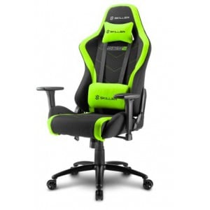 Sharkoon 4044951020195 Skiller SGS2 Steel Frame with Moulded Foam Gaming Chair - Black/Green