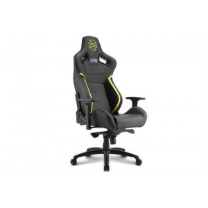 Sharkoon Shark Zone GS10 Gaming Seat Black/Yellow, Retail Box , 1 Year warranty