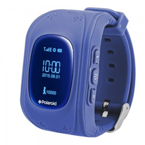 Polaroid PMOJI1 GPS Tracking Kids Watch - Blue