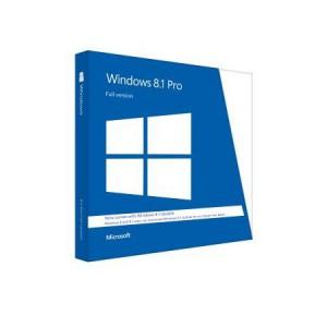 Windows 8.1 Professional - Retail Software, DVD Pack 32-bit/64-bit