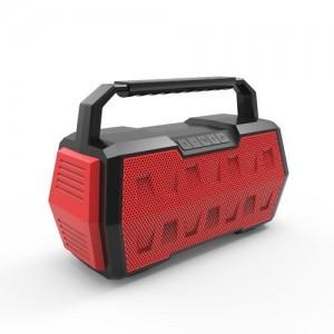 Supersonic SPK-5R2 Outdoor Waterproof Speaker - Red