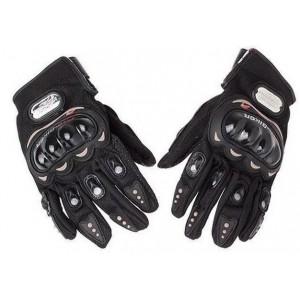 PRO-BIKER Moto Sport Racing Gloves - Black (XL)
