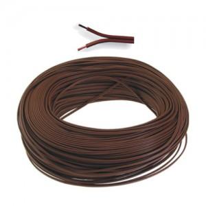 100m Ripcord 0.2mm (Brown)