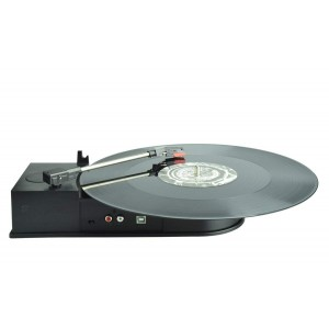 DIGINOW Portable USB Vinyl Turntable Record to Mp3 CD Converter