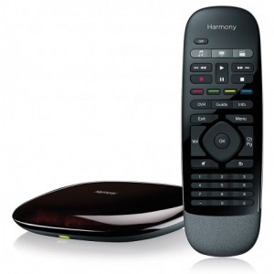 LOGITECH Harmony Smart Home Control with Remote plus Smartphone App - Black