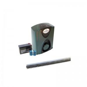 CENTURION D2 Turbo Gate Motor Kit incl 4m rack and 7AH Battery
