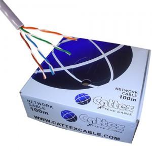 Cattex CAT5e Cable 100m (PURE COPPER) - Box
