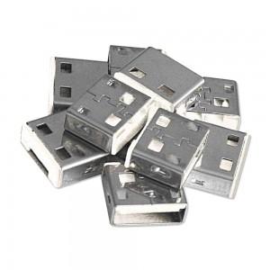LINDY USB PORT BLOCK 10X, NO KEY, WHITE (40464)