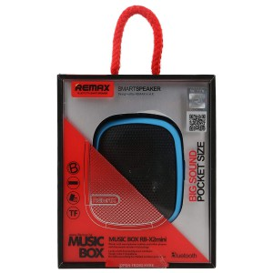 REMAX OUTDOOR FM BLUETOOTH SPEAKER RED (RB-X2)