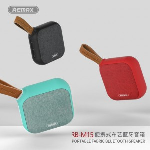 REMAX BLUETOOTH 5W SPEAKER BLACK FABRIC (RB-M15)