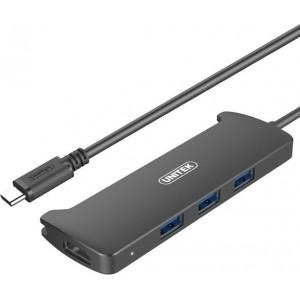 UNITEK USB3.1 GEN1 TYPE-C 3-P HUB,1-P HDMI (V300A)