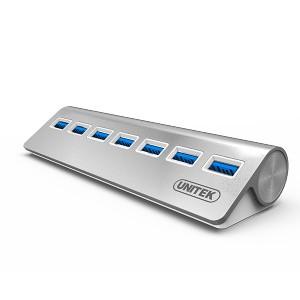 UNITEK USB3.0 7-PORT ALUMINIUM HUB (Y-3187)