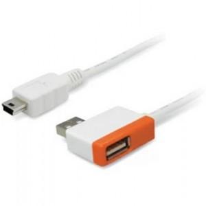 UNI1TEK 1-PORT MINI USB HUB ORANGE (Y-2012)