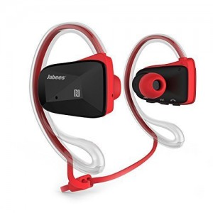 JABEES BLUETOOTH V4.1 BSPORTS HEADPHONE  RED