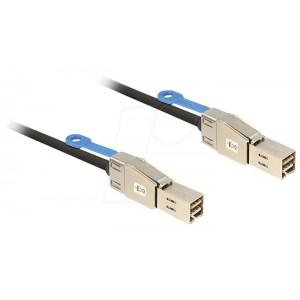 DELOCK 2M CABLE MINI SAS SFF-8644 - SFF-8644