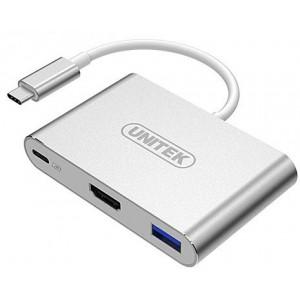 UNITEK USB3C, 1-P USB3.0, 2-P USB2.0, HDMI(Y-9103) USB TYPE C