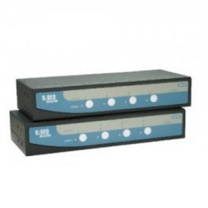REXTRON VIDEO SELECTOR 4PORT,4IN-2OUT/NO REMOTE