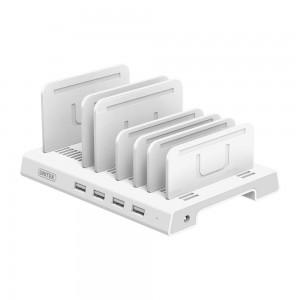 UNITEK 4-PORT USB CHARGE STATION BC1.2A (Y-2187A)