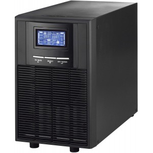 LINKQNET 3KVA 2400W ONLINE UPS WITH BATT.. .., INCLUDES 6 X 12V9AH BATTERIES