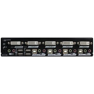 REXTRON VIDEO,AUDIO SPLITTER 4PORT,1IN-4OUT,NO REM