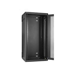 22U 600X600MM 2 FANS,1FIXED SHELVES,GLASS DOOR... ...L PROFILES WITH L SHELVES FLAT PACKING