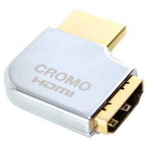 LINDY HDMI M - F 90DEG RIGHT CROMO ADAPTER (41507)