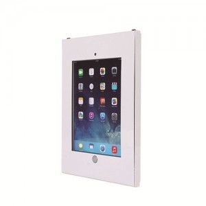 BRACKET IPAD ANTI-THEFT STEEL ENCLOSURE WITH LOCK. ...FOR IPAD 2, 3, 4, AIR, AIR2