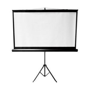 TRIPOD PROJECTION SCREEN 1:1 80IN 1.5M X 1.5M