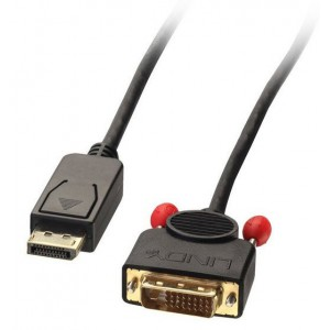 LINDY 3M ACT DISPLAYPORT M TO DVI M CABLE (41492)