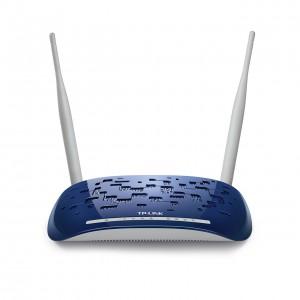TP-Link ADSL2+ 300Mbps WiFi N Router, 4x 10/100Mbps Ports, 2.4GHz, 802.11n/g/b, ADSL/ADSL2/ADSL2+