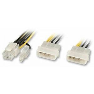 LINDY INTERNAL POWER CABLE SLI/PCIE 8 (33159)