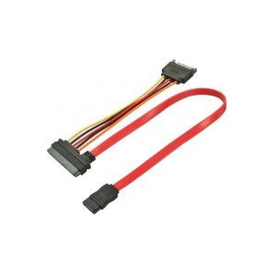 LINDY 0.3M INTERNAL SATA DATA & PWR CABLE (33383)