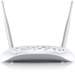 TP-LINK TD-W8968 Wireless N300 ADSL2+ Modem Router, 2.4Ghz 300Mbps
