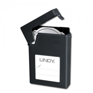 LINDY 2.5IN HDD PROTECTIVE CASE BLACK (40687)