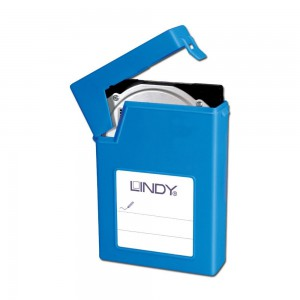 LINDY 3.5IN HDD PROTECTIVE CASE BLUE (40686)