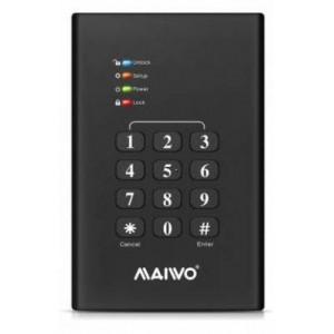 MAIWO USB3.0 2.5INCH KEYPAD ENCRYP ENCL (K2568KPA)