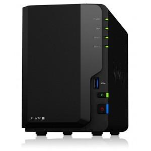 DS218+ 2-BAY MAX 20TB, 2GB, DC2.5G, NO HDD