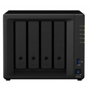 DS418 4-BAY MAX 40TB, 2GB, QC1.4G, 2X LAN, NO HDD