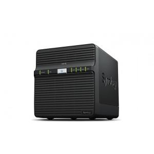 DS418J 4-BAY MAX 40TB, 1GB, DC1.4G, LAN, NO HDD