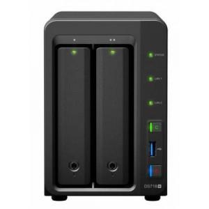 DS718+ 2-BAY MAX 20TB, 2GB, QC2.24GHZ, 2X LAN