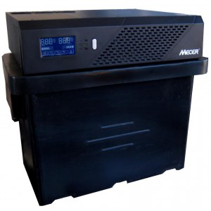Mecer 1200VA Inverter + 102Ah Battery (4 HOUR BATTERY LIFE) KIT - 720W