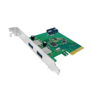 UNITEK 2-PORT USB3.1 PCI EXPRESS CARD (Y-7305)