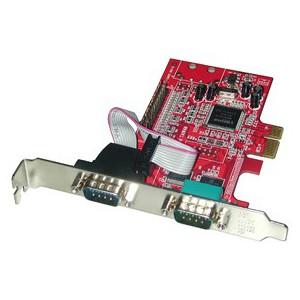 LINDY 2-PORT SER, 1-PORT PAR PCI EXPRESS (51188)