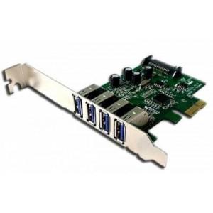 CHRONOS 4-PORT USB3.0 A PCI EXPRESS CARDPE 72021E
